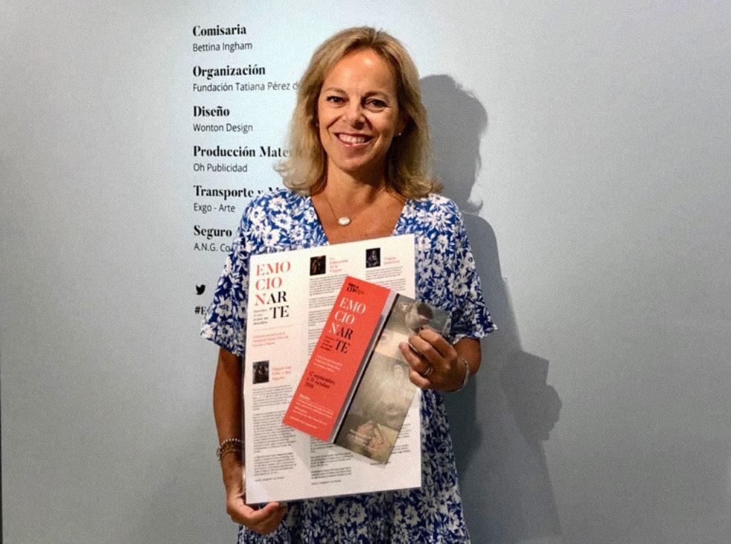 Bettina Ingham: comisaria de la exposición